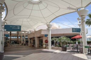 Closest airport to Joshua Tree- Palm springs airport concourse