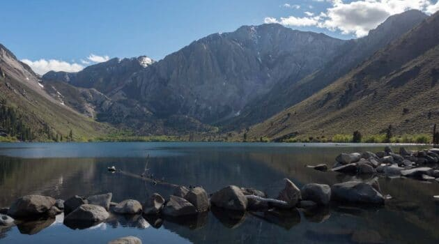 Convict Lake view reflections