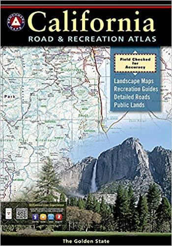 The California Road & Recreation Atlas