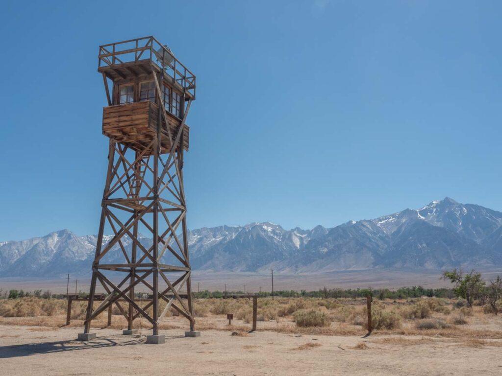 Manzanar Historic Site tower