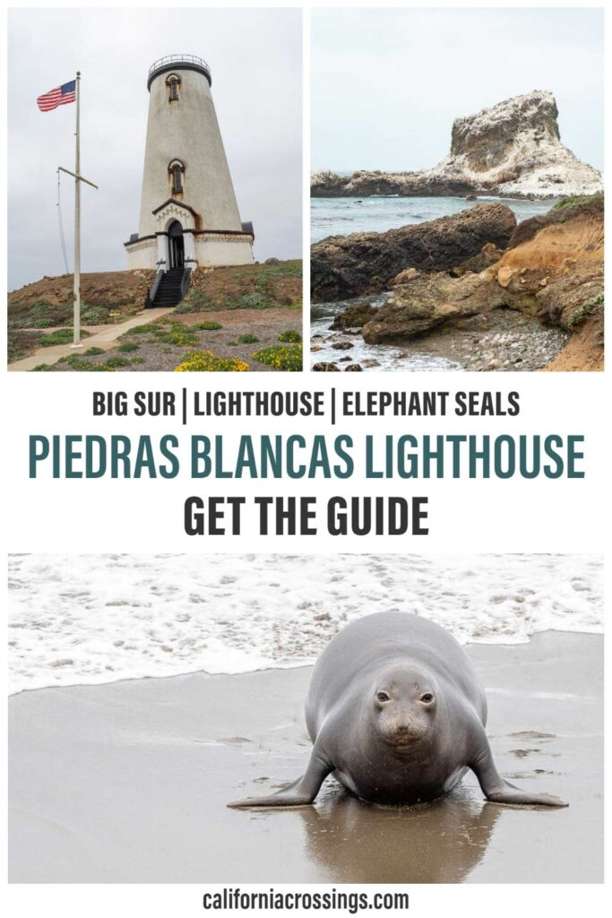 Piedras blancas lighthouse guide