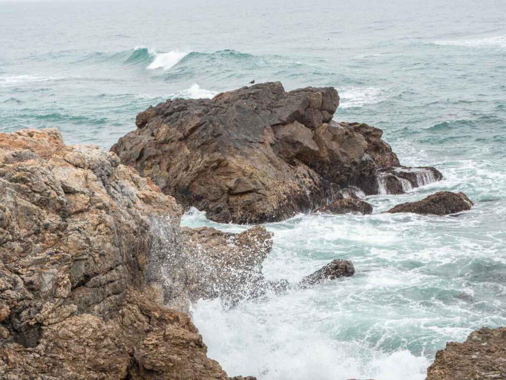 Piedras Blancas coastline